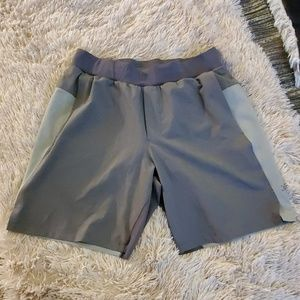 NWOT--Two tone gray Lululemon swim shorts